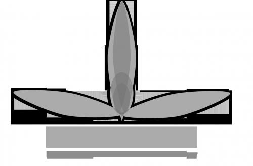 logo flyhigสีเทา